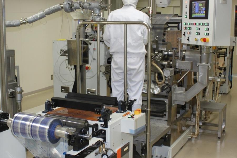 大協薬品 テープ剤設備