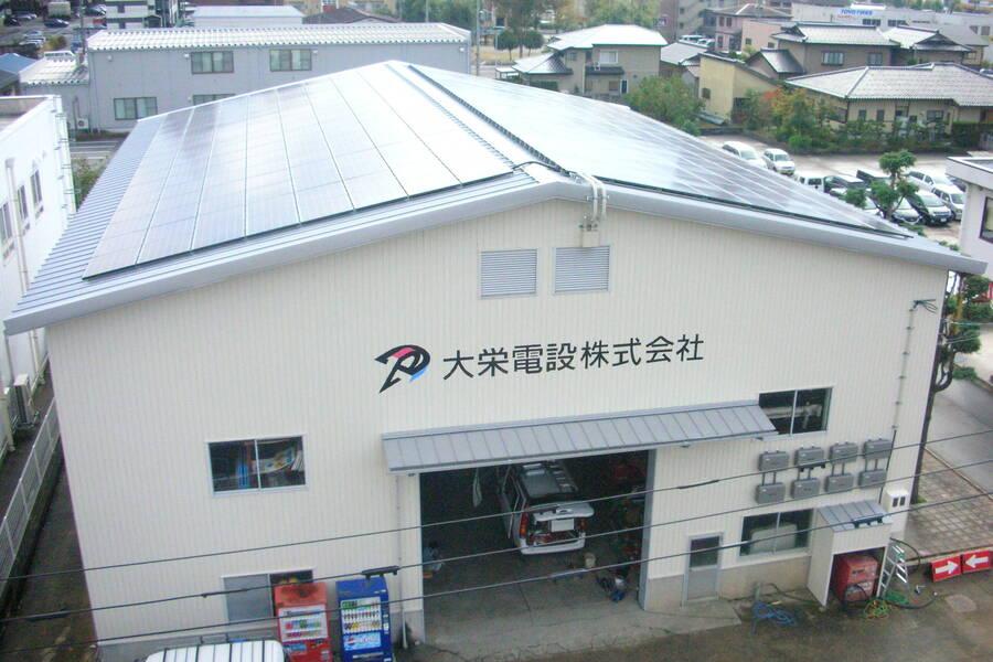 倉庫(本社の隣にあります)