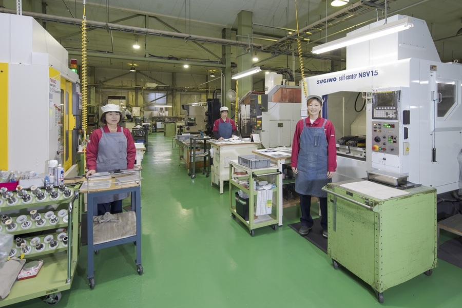 当社の4割は女性社員です。
