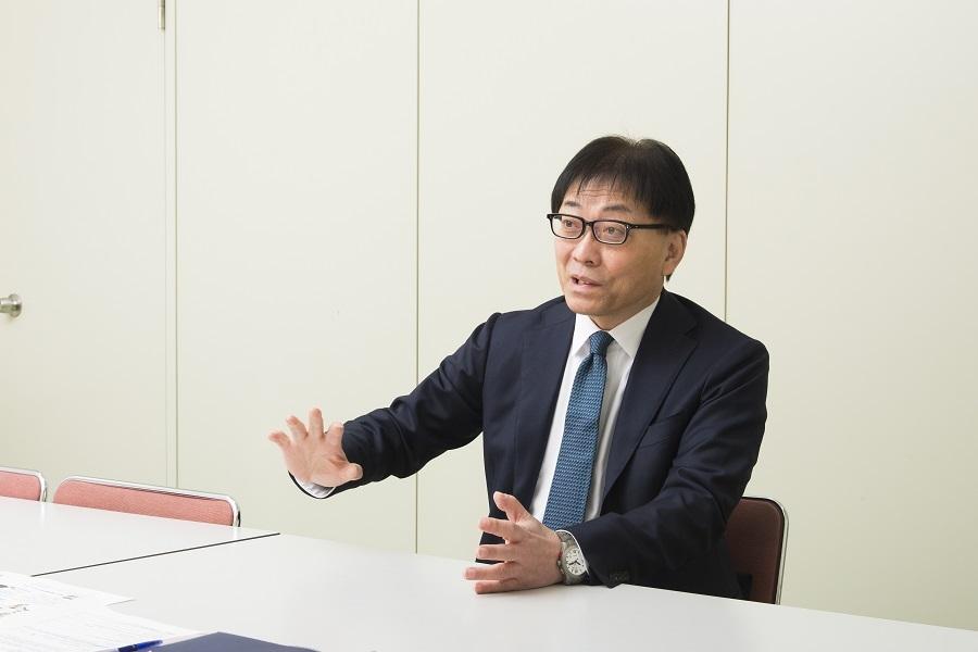 「電気系初心者の入社も大歓迎」と語る中田社長